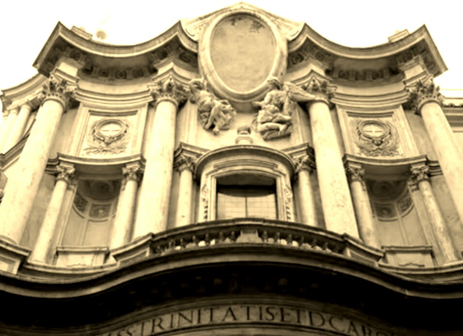 Baroque building facade