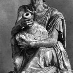 Drunken old woman hellenistic greek