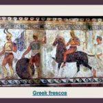 Greek frescos